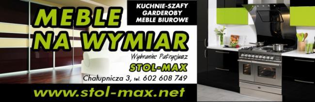 MEBLE NA WYMIAR Stol-Max Wybraniec Patrycjusz