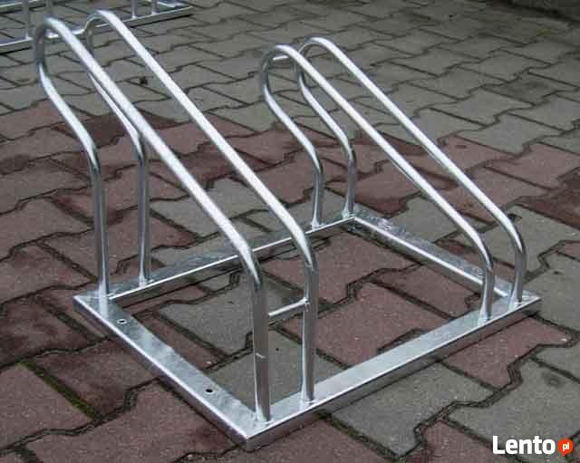 Blokady parkingowe, stojaki na rowery - produkcja