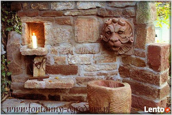 Fontanny ogrodowe z kamienia naturalnego