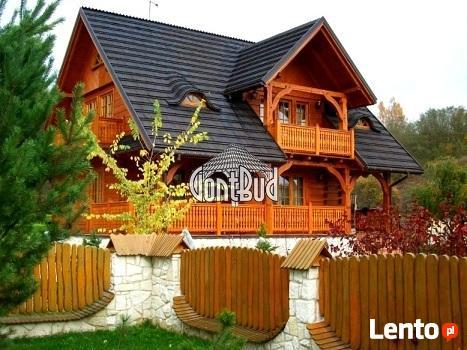 Gonty Drewniane montaż, układanie gontów drewnianych, cena
