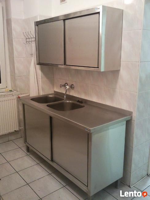 Wszystkie nowe Meble gastronomiczne ze stali nierdzewnej- szybka realizacja Poznań EW24
