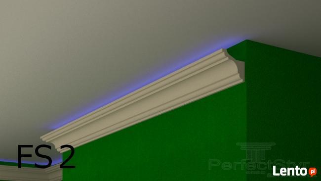 Listwy przysufitowe, oświetleniowe LED