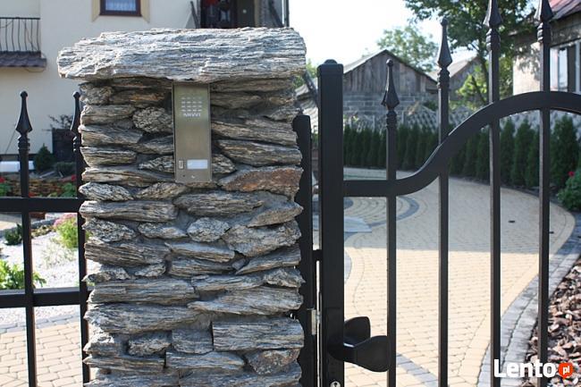 Archiwalne Ogrodzenia Z Kamienia Grille Altany Donice
