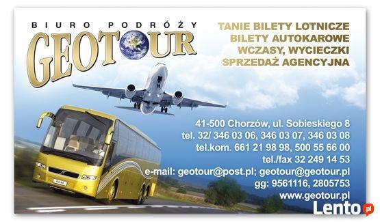 Biuro Podróży Geotour oferuje wczasy i wycieczki do Grecji