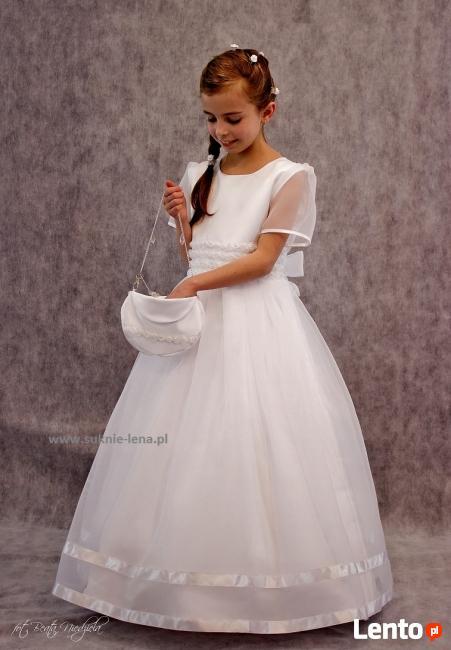a8e408aff5 Śliczna sukieneczka komunijna Ruda Śląska