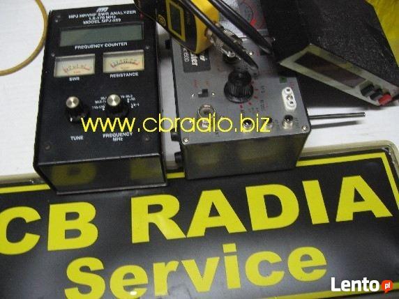 Tuning radia CB,naprawa radia cb,strojenie,sklep serwis cb