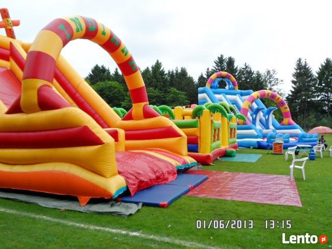 Dmuchańce Szczecin wynajem atrakcji dla dzieci