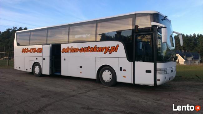 Wynajem autokarów i busów, wycieczki krajowe, zagraniczne