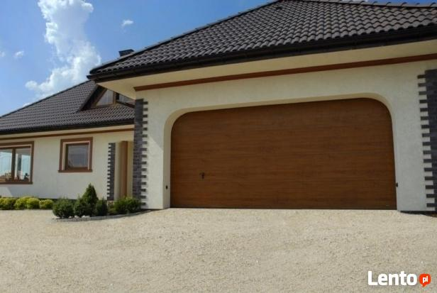 Brama garażowa segmentowa Wiśniowski