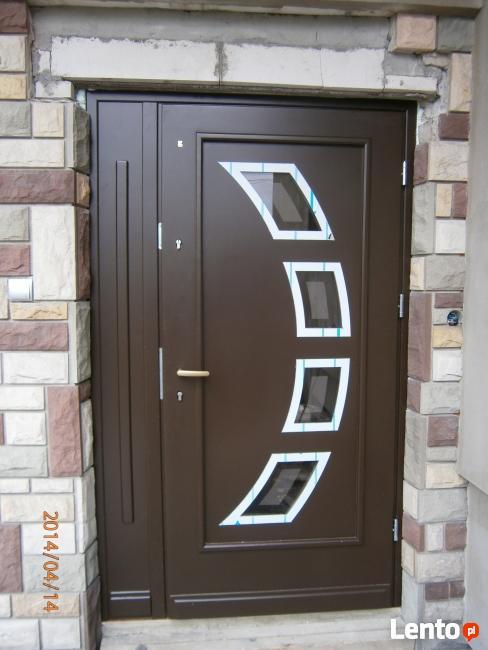 Drzwi na wymiar zewnętrzne