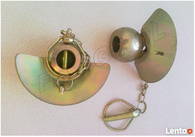 Kula z kołnierzem i zawleczką 64x28x12 - Walterscheid