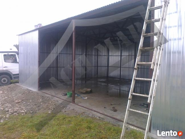 Garaż Blaszany Hala,Magazyn 8x12 PRODUCENT WZMOCNIONY