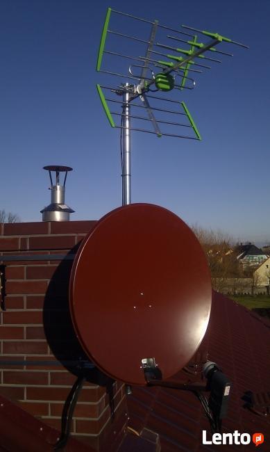 Montaż anten ustawianie anten sprzedaż anten i dekoderów