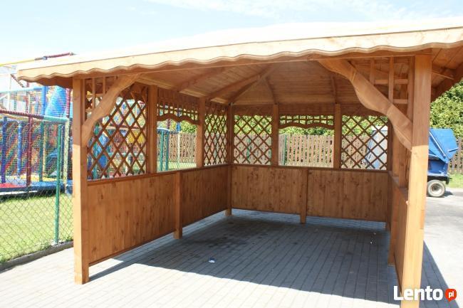 Altanka altanki wiata garażowa zadaszenie altany domki