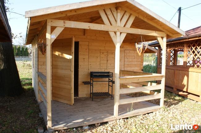 Altany altanki domki ogrodowe narzędziowe wiaty zadaszenia