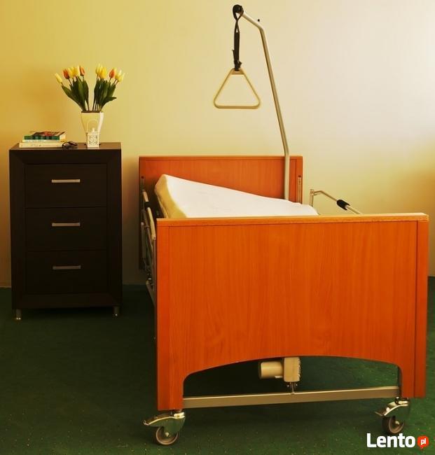 Przechylane Obustronnie łóżko Rehabilitacyjne Swing Wynajem śrem
