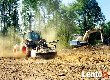Przygotowanie terenów pod budowę Chrzanów Trzebinia