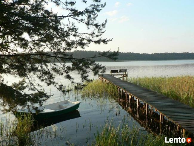 domek nad jeziorem-Mazury