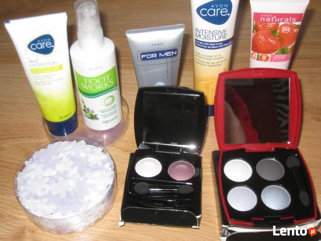 Sprzedaż kosmetyków z Avonu i nie tylko.