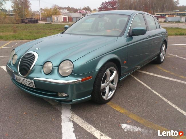 Piękna bestia dla wymagających Jaguar S-type