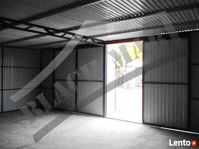 Garaż blaszany 8x6 blaszaki garaże blaszane hala wiata