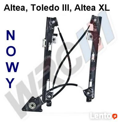 Mechanizm podnośnik szyby Seat Altea XL, Toledo III, Altea