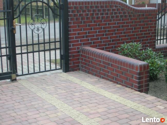 Ogrodzenia z klinkieru,betonowe