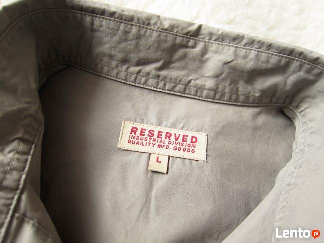 Koszula Reserved kolor Khaki Oliwka 100% bawełna rozmiar L