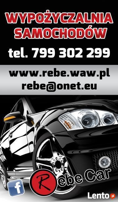 Wypożyczalnia wynajem samochodów RebeCar - Peugeot BipperVan
