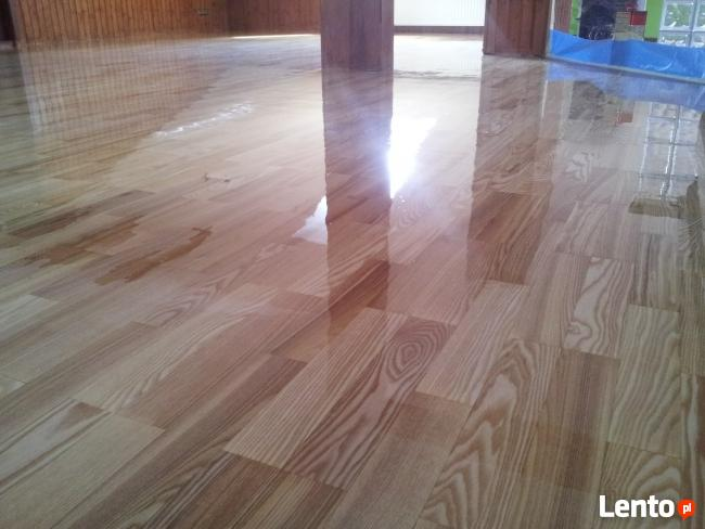 Cyklinowanie bezpyłowe, renowacja każdej podłogi drewnianej.