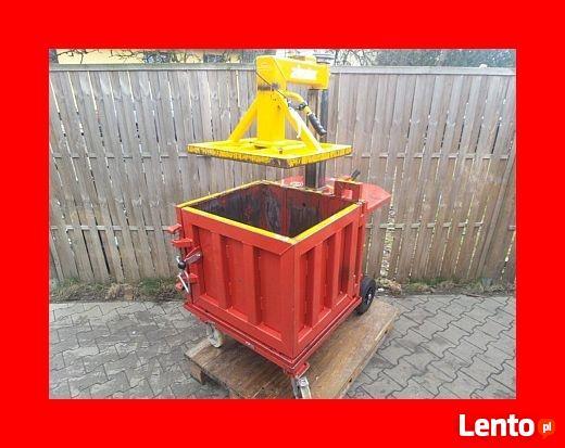 Topnotch BELOWNICA PRASA DO MAKULATURY Folii Odpadów Hydrauliczna Opalenica RQ73
