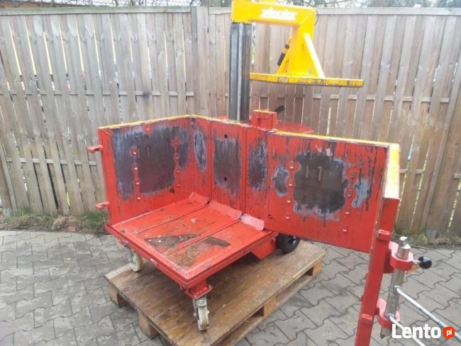 Zupełnie nowe BELOWNICA PRASA DO MAKULATURY Folii Odpadów Hydrauliczna Opalenica GZ62