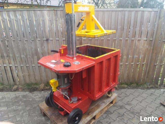 Bardzo dobra BELOWNICA PRASA DO MAKULATURY Folii Odpadów Hydrauliczna Opalenica BV69