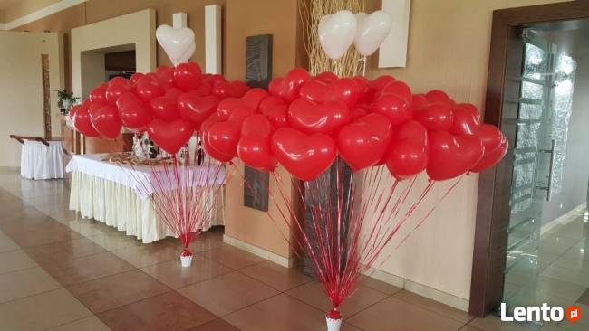 Balony na wesele z dowozem najlepiej na Śląsku