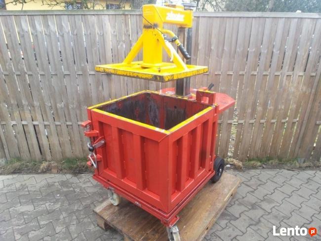 Zaawansowane BELOWNICA PRASA DO MAKULATURY Folii Odpadów Hydrauliczna Opalenica JQ22