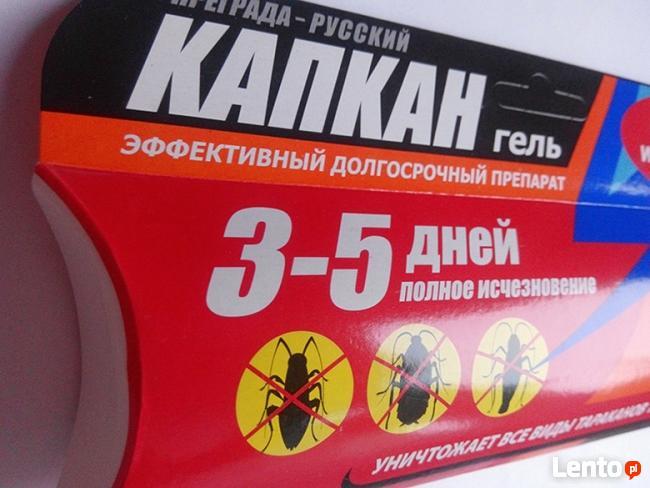 """Rosyjski żel """"Kapkan"""" do zwalczania karaluchów -"""