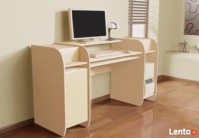 Innowacyjne modułowe biurko komputerowe Detalion Wrocław