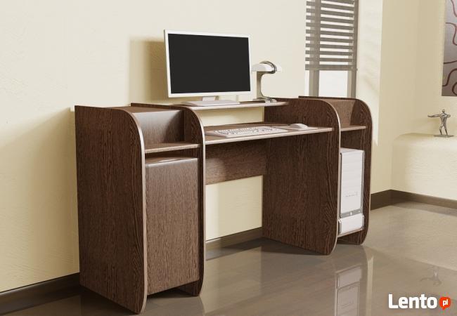 Innowacyjne modułowe biurko komputerowe Detalion Łódź