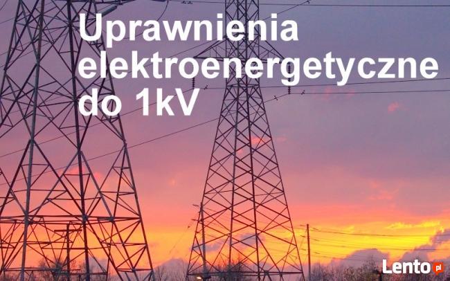 Elektryczne uprawnienia do 1 kV szkolenie