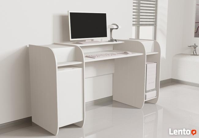 Designerskie biurko komputerowe Detalion do biura Warszawa