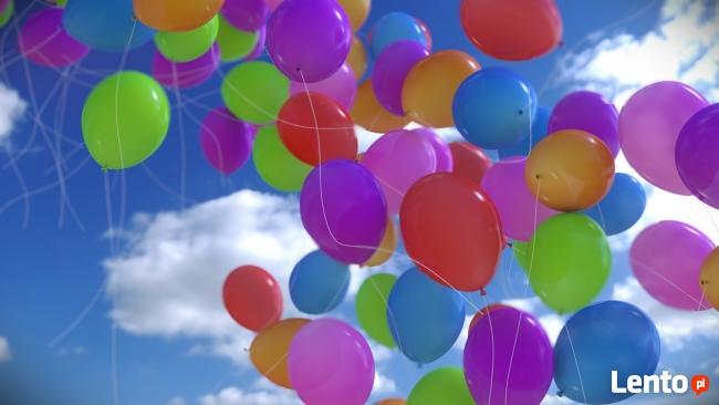 Balony hel pastelowe z nadrukami Balony z helem Balony Cyfry