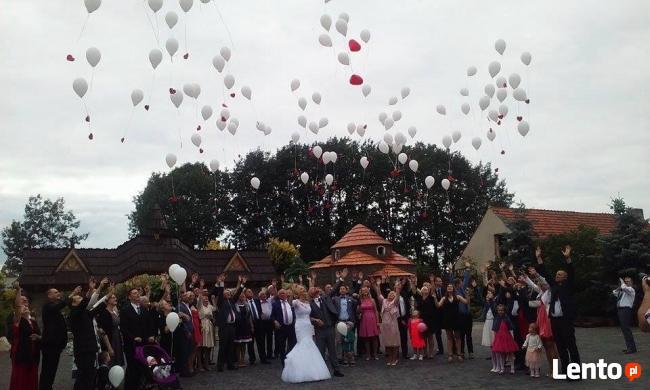 Obsługa imprez wesela fotobudka balony z helem animacje