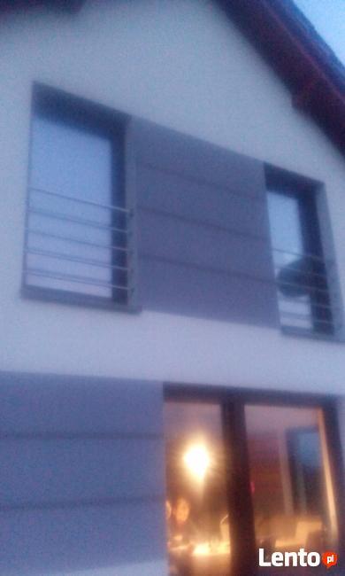 Okna Francuskie, Balkony ,zabezpieczenie ,barierka