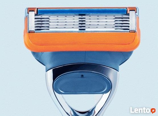 4x Wymienne Nożyki MACH 3 wkłady do maszynek Gillette Fusion