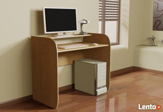 Modułowe klasyczne biurko komputerowe Detalion cała Polska
