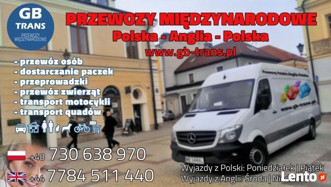 przewozy Polska-Anglia-Polska