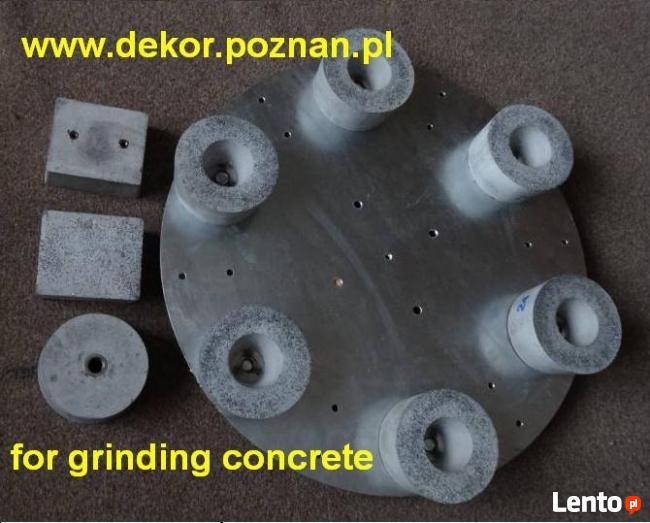 Tarcza do szlifowania betonu lub lastriko (na zacieraczkę)