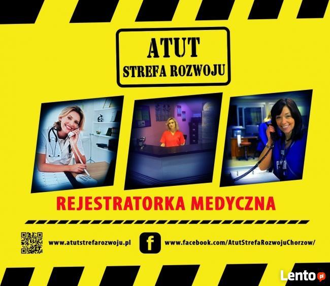 Rejestratorka Medyczna 50% rabat ATUT Strefa Rozwoju Chorzów