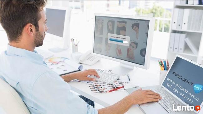 Zarządzanie sklepem internetowym lub stroną www