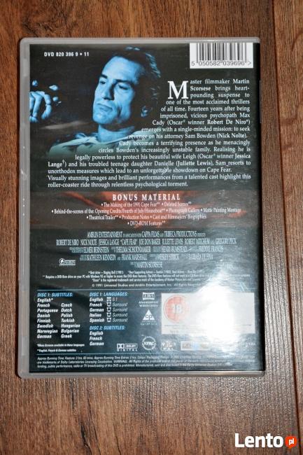 """Film ,,Przylądek Strachu""""(Cape Fear) Martina Scorsese"""